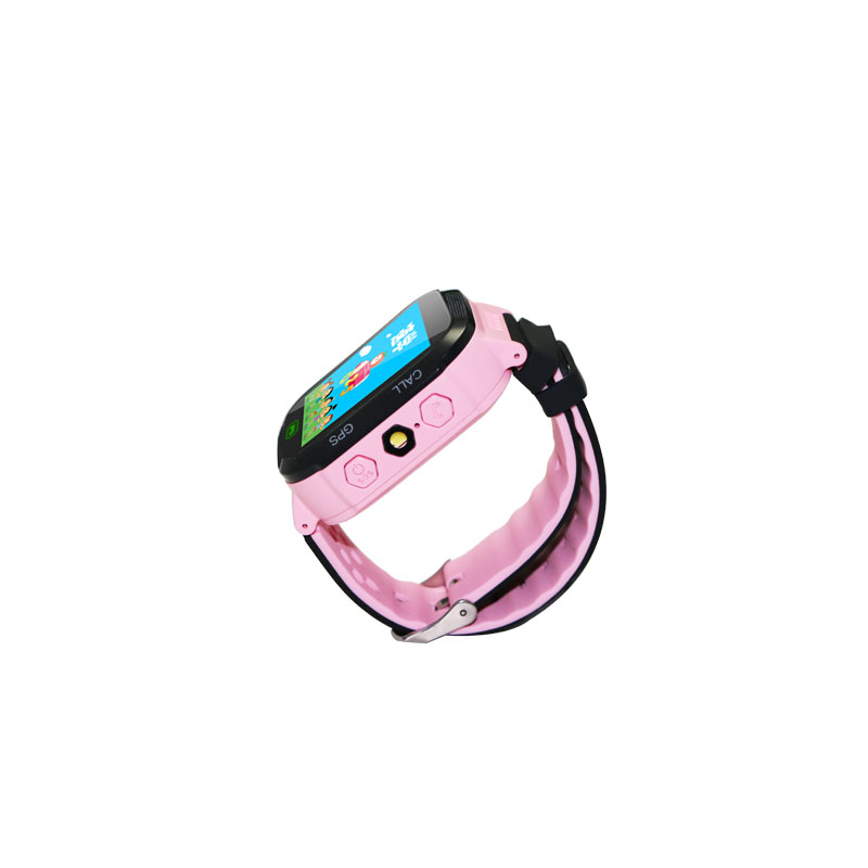 Éclairage LBS/GPS lication 1.44 écran tactile ce rohs montre intelligente enfants gps montre