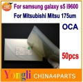 50pcs 250um For samsung galaxy s5 i9600 oca film for Mitsubishi Mitsu Rohs OCA Optical Clear Adhesive