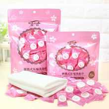 30/50/100pcs Portable Travel Cotton Compressed Towel Expandable Mini Face Care Healthy Cleansing For Outdoor Sports