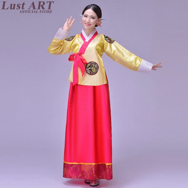 Traditional Korean Clothing Las Women Hanbok New Design Dress Aa210