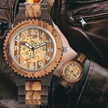 marque bracelet bois Montre