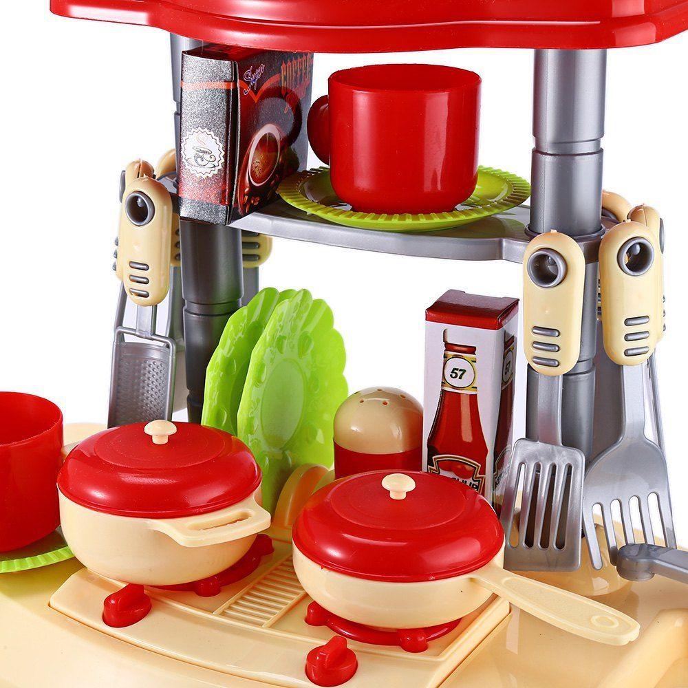 ABWE Лучшая Продажа, детский набор для приготовления пищи, ролевой игры, игрушечный светильник