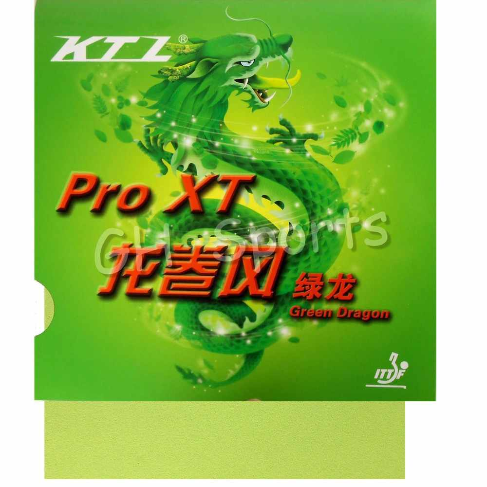 KTL Pro XT Green-Dragon Pips-in Table Tennis (PingPong) Rubber With Sponge