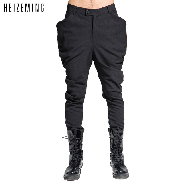 2016 Real Regular Low Twill Full Length Zipper Fly Washed Casual New Boots Pants Mens Joggers Hip Hop Harem Men Pant For Cargo