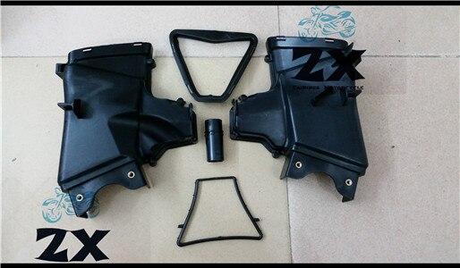 Мотоцикл ОЗУ забора воздуха Труба воздуховода труба для Kawasaki запросу zx6r ZX в-6р 636 ZX636 ZX в 2013 2014 13 14 2015 запчастей ZXMT