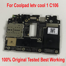 Ltpro 원래 테스트 된 메인 보드 letv leeco coolpad cool1 cool 1 c106 C106 7/8/9 32 gb 마더 보드 회로 요금 플렉스 케이블