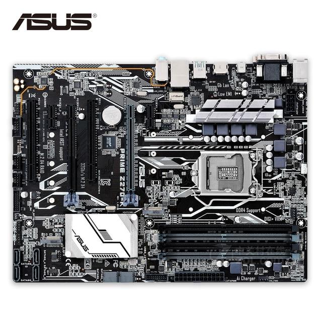 US $192 05 |Asus PRIME Z270 K Desktop Motherboard Z270 LGA 1151 DDR4 64G  SATA3 USB3 1 ATX-in Motherboards from Computer & Office on Aliexpress com |