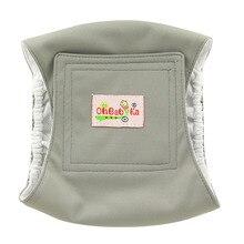 Ohbabyka прочные моющиеся мужские пеленки для собак, тканевые подгузники для собак и мальчиков, многоразовые подгузники для собак, нижнее белье, штаны для мужчин, поводок для собак