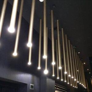Image 1 - مصباح إضاءة LED بقطر ما بعد الحداثة 3 سنتيمتر بتصميم فني ضيق للسقف مصباح كهربائي 8 ألوان تزيين 6 خيارات للمقاسات