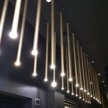 LED Postmodern yaratıcı çapı 3cm ince Downlight sanat tarzı tavan spot galvanik 8 renk dekorasyon 6 boyut seçenekleri