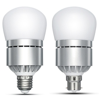 LED Light Bulb 12W 2835 SMD LED Lamp Bulb E27 B22 Bayonet Dusk To Dawn Automatic