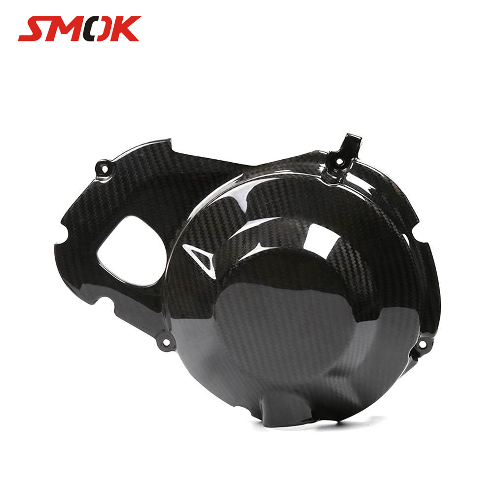 SMOK For Yamaha MT09 MT-09 MT 09 FZ-09 2013-2017 Motorcycle Carbon Fiber Right Engine Stator Case Plug Clutch Cover ProtectorSMOK For Yamaha MT09 MT-09 MT 09 FZ-09 2013-2017 Motorcycle Carbon Fiber Right Engine Stator Case Plug Clutch Cover Protector