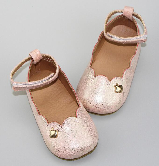 New Autumn princess Genuine Leather Baby Moccasins mary jane Baby girls dress Shoes hard sole Newborn first walker Infant Shoes retail 2016 new design heart genuine cow leather baby moccasins shoes fashion bow moccs girls newborn baby firstwalker anti slip