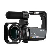Ordro WIFI AE8 4K Video Camera Digital Full HD Touch Screen IR Infrared Night Vision Camera Fotografica Profesional Camcorder