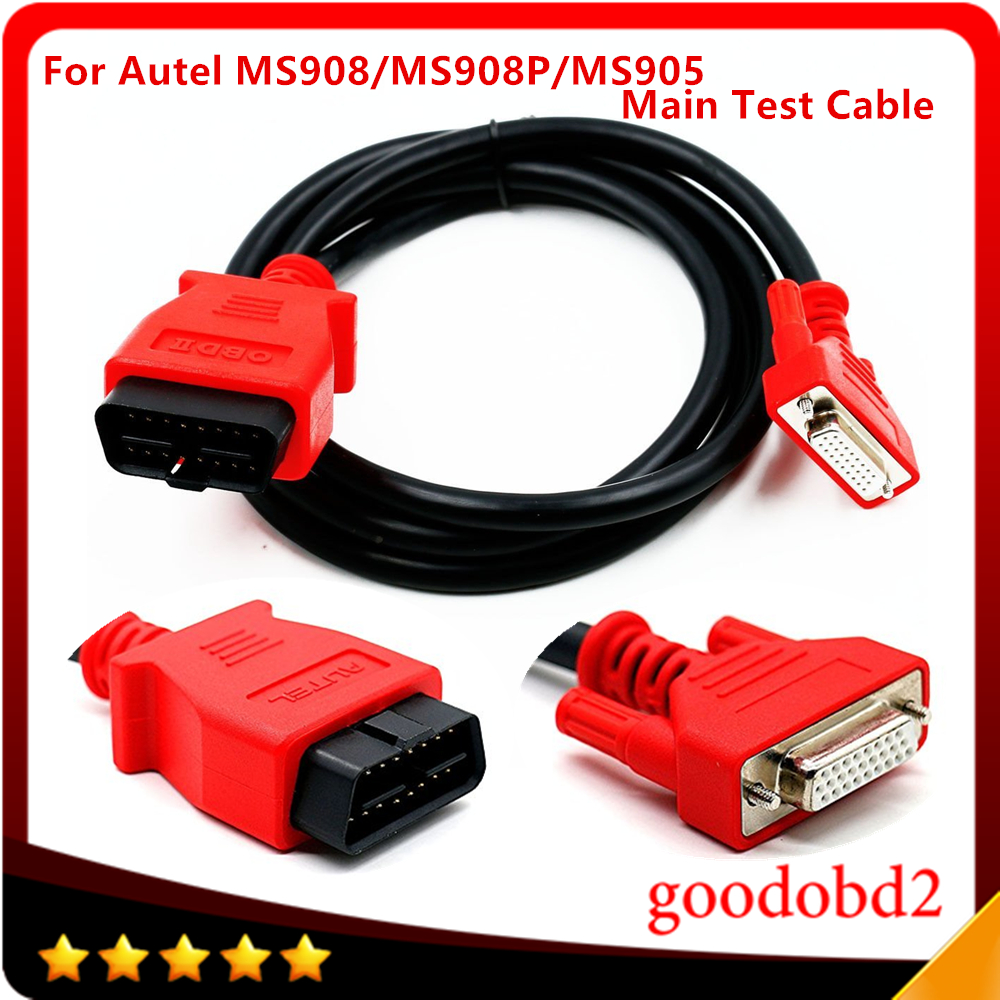 Main Test Cable For Autel MaxiSys MS908PRO 16pin Diagnostic System Cable OBD OBDII Car Diagnostic Cables And Connectors