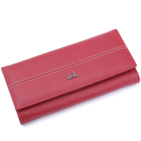 Brand Cow Genuine Leather Wallet Women Hasp Coin Purse Ladies Long Women S Purse Female Original