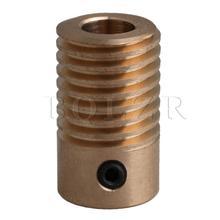 BQLZR желтый 20x11,7x6 мм 0,5 Модуль червячного колеса зубчатый Вал 6 мм Диаметр отверстия