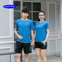 19Solid color T Shirt Mens Quick drying 100% cotton T-shirts  short Sleeve Men/Women t-shirt casual tops wholesale lowest price