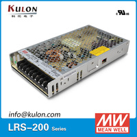 Mean Well Power Supply LRS 200 12 Switching Power Supply Single Output 200w 12v 17A