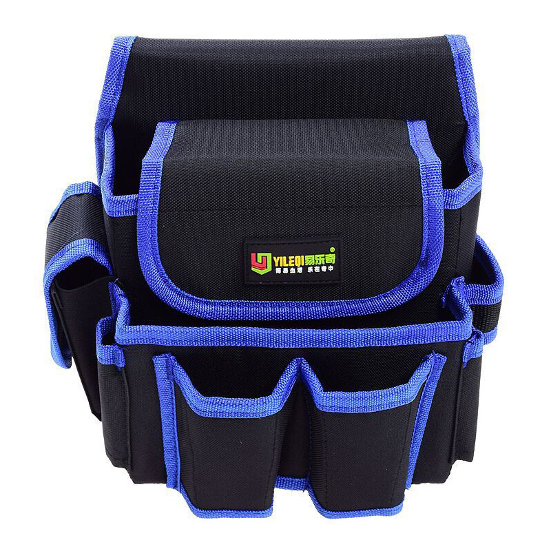 Large Capacity Waist Tool Bag Thicken Oxford Fabric Tools Storage Bag Electrician Tool Belt Puch