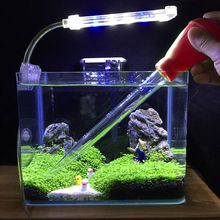50ml 16.9inch Pipette Aquarium Cleaner Pump Fish Tank Siphon Water Change Tool BBQ Tube For Cleaning Shifting Tools