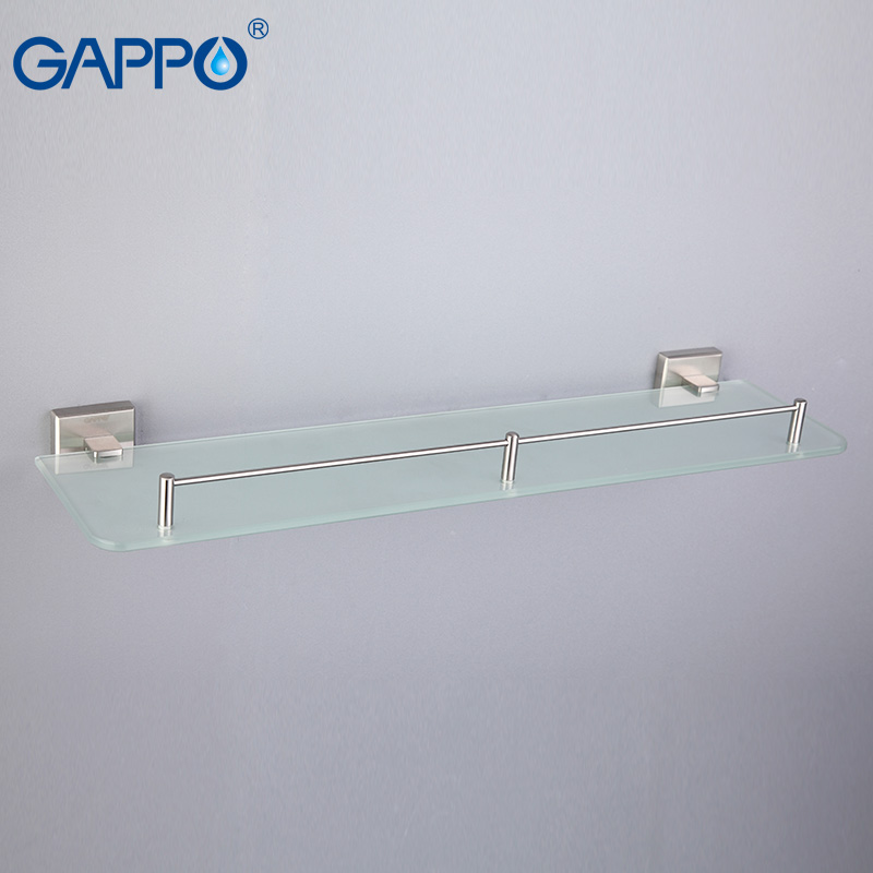 GAPPO glass Bathroom Shelves stainless steel bathroom towel rack wall mount towel hanger Towel Holders gappo towel bars bathroom towel holder hanger bath accessories stainless steel towel rack towel ring robe hooks bathroom