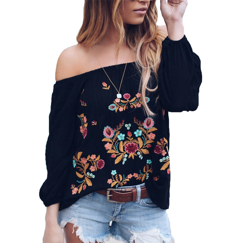 The Cheapest Price Bigsweety Hot Sale Summer Hollow Out Shirts Women Beach Blouse Long Sleeve See Through Flare Sleeve Tassel Bikini Cover Blusa Last Style Women's Clothing
