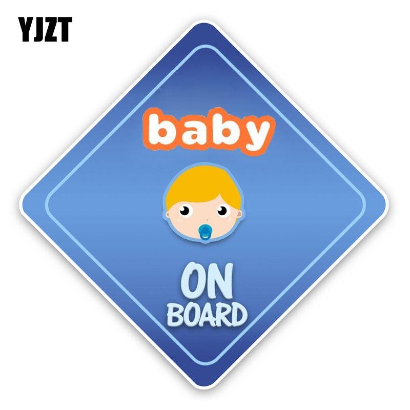 Yjzt 14.7*14.7 см Интересные детские на борту Детская безопасность знак для Высокое качество Цветной автомобиля Стикеры Графический C1-5697