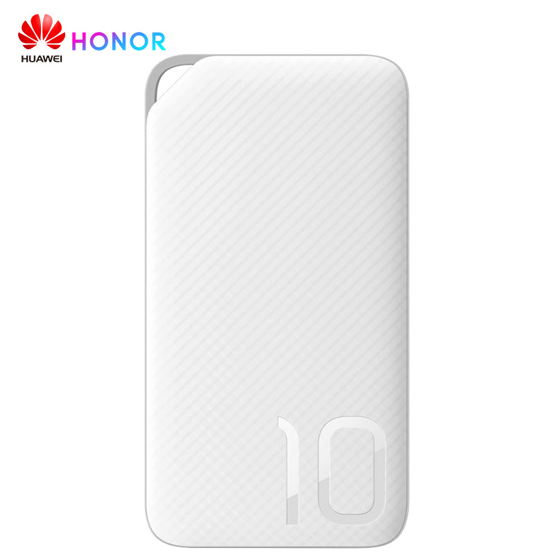 Huawei Honor Portable <font><b>10000</b></font> <font><b>mAh</b></font> Power Bank 5V 2A External <font><b>Battery</b></font> <font><b>Pack</b></font> for iPhone Xiaomi Huawei Oneplus Dual USB Charger image