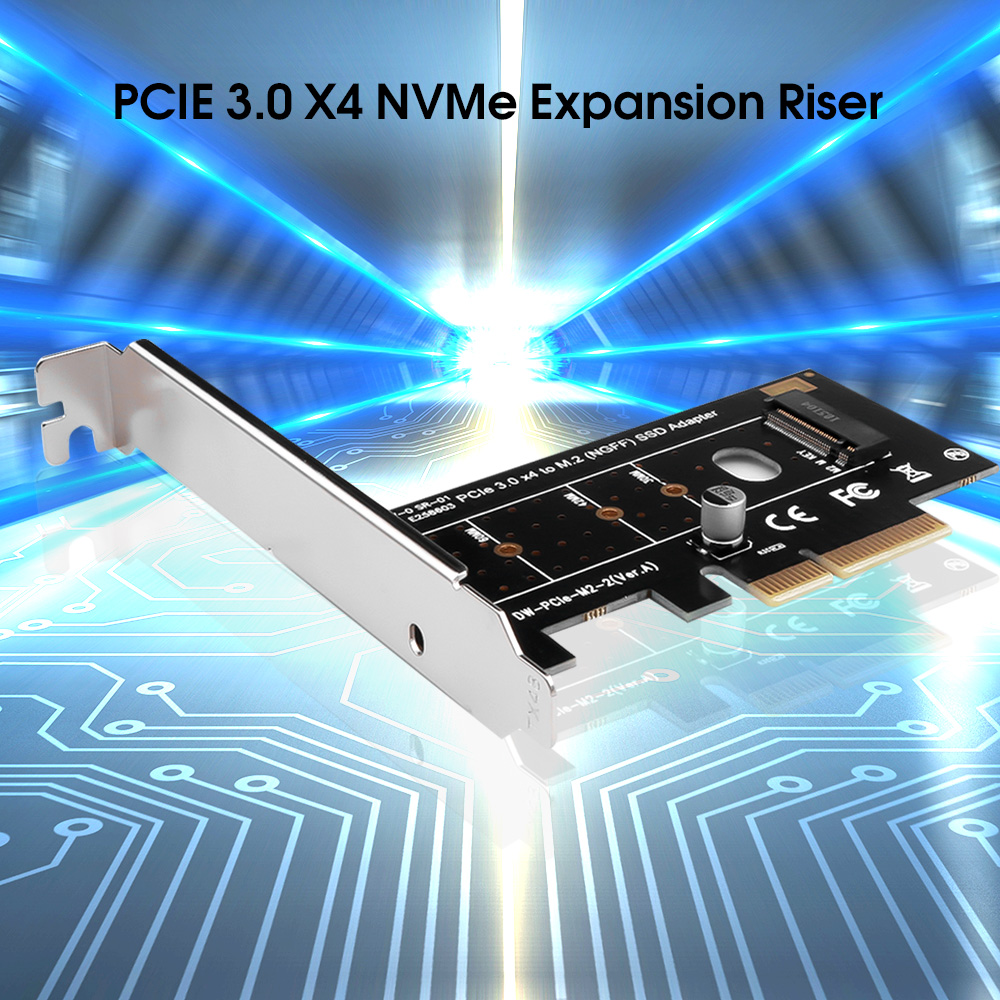 kebidumei M.2 NVMe SSD NGFF TO PCIE X4 adapter M Key interface card Support PCI Express 3.0 x4 2230 2280 Size m.2 FULL SPEED|Add On Cards| - AliExpress