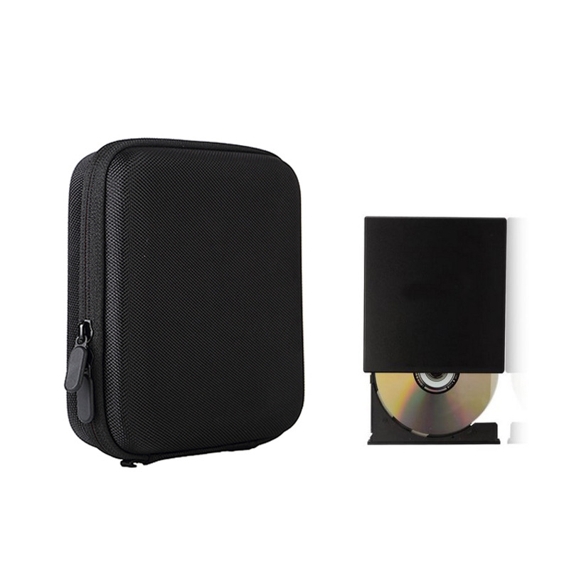 Portable Digital DVD Organizer Storage Bag Travel Waterproof DVD USB Data Cable Earphone Storage Box Shockproof Christmas Gift