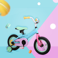 Dr Bike 12 14'' Stitch Macaron Kids Bicyclese with Quick Release Training Wheel 85 105cm