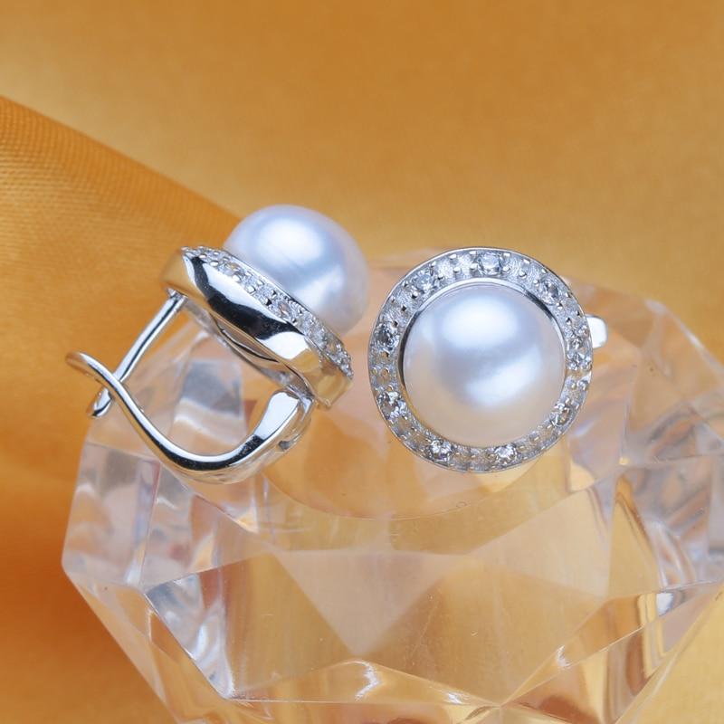 FENASY kolczyki z perłami, 2018 nowa naturalna kolczyki z perłami, - Wykwintna biżuteria - Zdjęcie 5