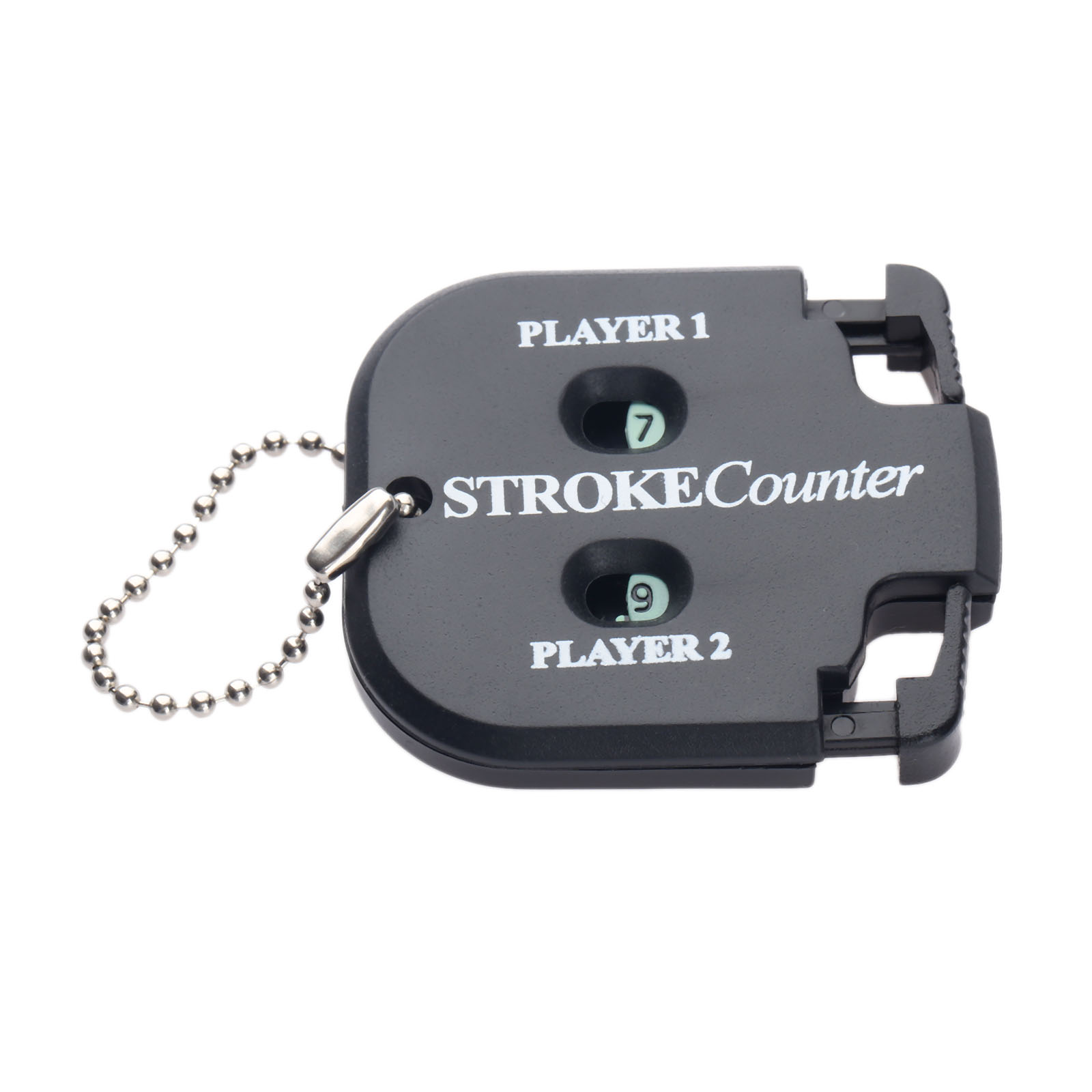 Golf Shot Count Stroke Putt Score Counter Compteur Two Digits Scoring Keeper With Key Chain Golf Training Aids Golf Accessories 2