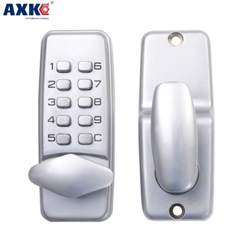 Axk Digital Mechanical Code Lock Keypad Password Door Opening Lock wsfs hot sale digital mechanical code lock keypad password door opening lock