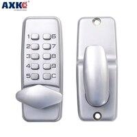 Axk Digital Mechanical Code Lock Keypad Password Door Opening Lock