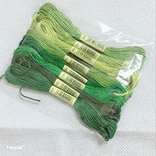 Новые 8 шт смешанные цвета 8 метров Вышивка крестом Хлопок Шитье, моток пряжи ремесло вышивка нить комплект DIY Швейные Инструменты 8