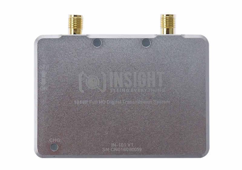 Combo de transmisor de vídeo inalámbrico Digital FPV, Full HD, 1080P, HDMI, 5G, 100mW/200mW, 10KM, 1080P