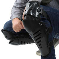 Protège-genoux pour moto, protège-genoux pour moto couchette de course pour moto protège-genoux ajustable pour l'hiver