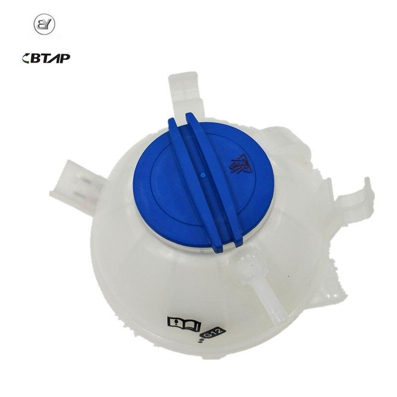 BTAP NEUE Kühlmittel Reservoir Expansion Tank + Cap Für Audi A3 TT VW Jetta MK5 Golf MK6 Passat 1K0121407A 1K0 121 407 EINE 1K0121407