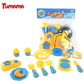 Tumama Classic Cooking Toys For Children 12PCS Pretend Play Cutting Food Set Kids Kitchen Toys