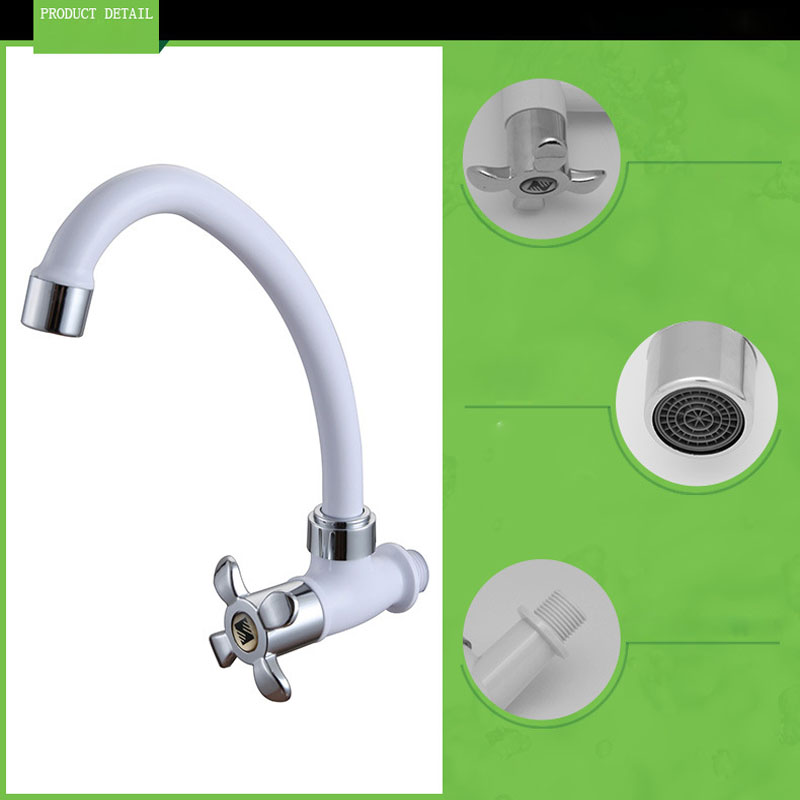 1PC ABS Plastic torneira Kitchen Faucet Cold for Kitchen Dish Basin ...