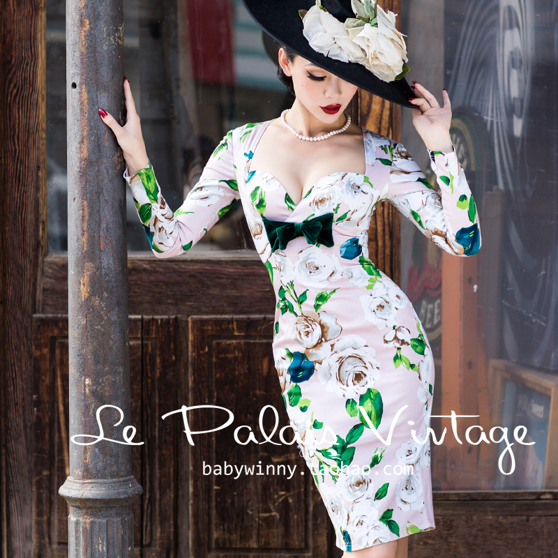 08ec7ef5f top 9 most popular vestidos palais vintage list and get free ...