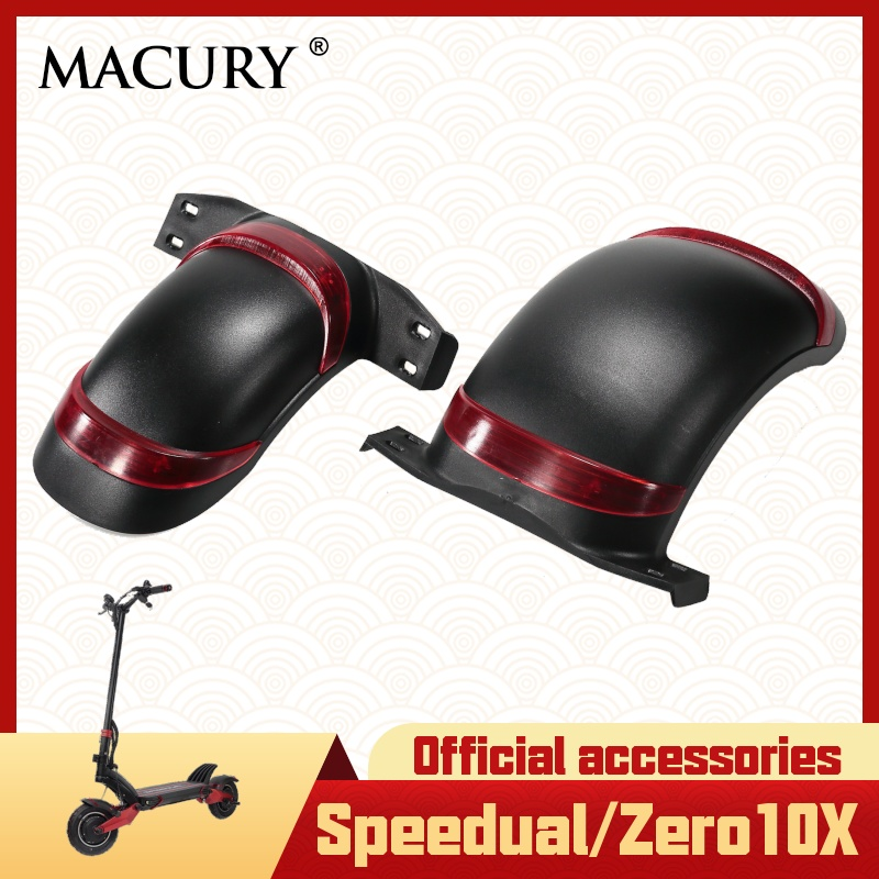 Fender Mudguard Front Rear for Speedual Zero10x Zero 10x Electric Scooter Wheel Cover Macury Accessories Spare Parts T10-ddm
