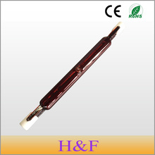 Newest High Quality J118 400V 400W 600W Infrared Halogen Lamp Bulb Halogen Tube Twin Spiral for Heating Drying Quartz Tube Glass
