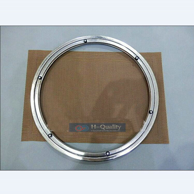 500mm 20inch Heavy Load Stainless Steel Dining Room Lazy Susan Turntable Swivel Plate Kitchen Furnitures