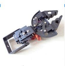 F17310 1Set Robot Clamp Gripper Bracket Servo Mount Mechanical Claw Arm Kit for MG995 MG996 SG5010