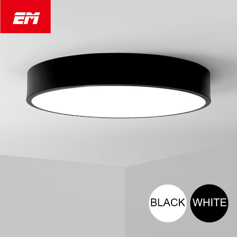 Modern LED ceiling light Round simple decoration fixtures study dining room balcony bedroom living room ceiling lamp ZXD0005