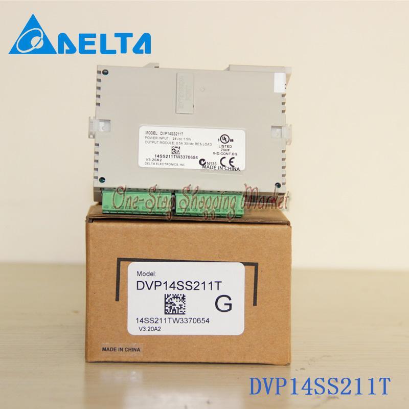 New Original Programmable Controller Module DVP14SS211T PLC DI 8 DO 6 Transistor(NPN) 24VDC