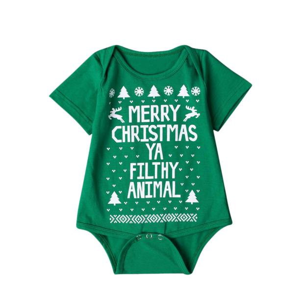 HTB1i4vab98YBeNkSnb4q6yevFXao - New 2016 new born baby clothes  Boys Girls Printed Christmas Romper Jumpsuit Xmas winter romper ld ourlove bebes